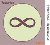 infinity sign | Shutterstock .eps vector #440725618