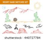 Western Desert Doodle Set....
