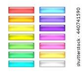 vector web buttons set | Shutterstock .eps vector #440741590