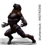Lycan Werewolf 3d Illustration