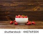 Strawberry Strawberries On A...