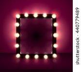 mirror realistic vector... | Shutterstock .eps vector #440779489