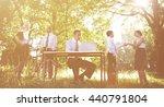 environmental friendly themed... | Shutterstock . vector #440791804