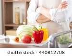 asian man cooking in the kitchen | Shutterstock . vector #440812708