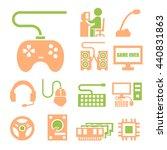 gamer icon set