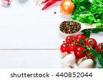 beautiful background healthy... | Shutterstock . vector #440852044