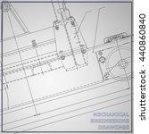 gray mechanical engineering... | Shutterstock .eps vector #440860840