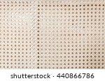 classic weaving wicker texture... | Shutterstock . vector #440866786
