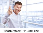 business man is pointing at you | Shutterstock . vector #440881120