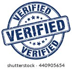 verified. stamp | Shutterstock .eps vector #440905654