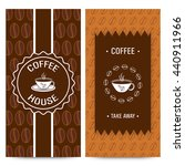set of coffee house menu card... | Shutterstock .eps vector #440911966