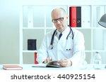 Old Male Medicine Doctor ...