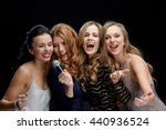 holidays  friends  bachelor... | Shutterstock . vector #440936524