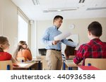 education  school  learning and ... | Shutterstock . vector #440936584