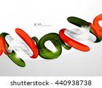 colorful swirl shape abstract... | Shutterstock .eps vector #440938738