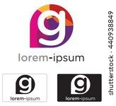 generic g letter logo concept...   Shutterstock .eps vector #440938849
