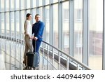 couple in love on vacation.... | Shutterstock . vector #440944909