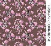seamless floral pattern with...   Shutterstock . vector #440945044