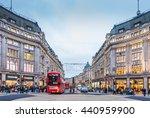 london nov 10 view of oxford... | Shutterstock . vector #440959900