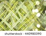 abstract green fractal... | Shutterstock . vector #440980390