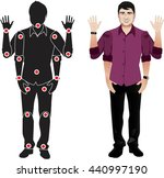 for animation. man character in ... | Shutterstock .eps vector #440997190