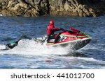 Lifeguards In Jet Ski In ...