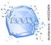 abstract illustration aqua