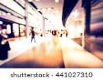 bokeh shopping mall in vintage... | Shutterstock . vector #441027310