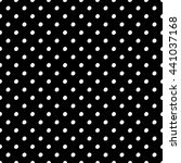 abstract polka dot pattern with ... | Shutterstock .eps vector #441037168
