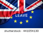 brexit leave or remain concept... | Shutterstock . vector #441054130
