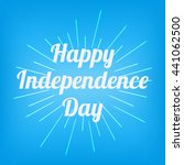4th of july greeting vector...   Shutterstock .eps vector #441062500