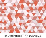 colorful geometric triangle... | Shutterstock .eps vector #441064828