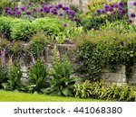 A Gorgeous English Garden With...