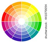 illustration of printing color... | Shutterstock .eps vector #441070054