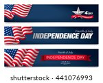 fourth of july independence day | Shutterstock .eps vector #441076993