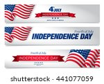 fourth of july independence day | Shutterstock .eps vector #441077059
