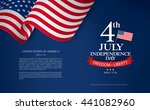 fourth of july independence day | Shutterstock .eps vector #441082960