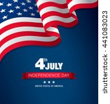 fourth of july independence day | Shutterstock .eps vector #441083023