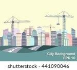 urban background. city...   Shutterstock .eps vector #441090046