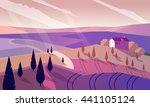colorfull cartoon flat...   Shutterstock .eps vector #441105124