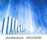 stock indicators and bar charts | Shutterstock . vector #44110540