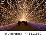 Amazing Light Tunnels At Naban...