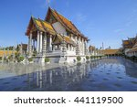 wat suthat temple in bangkok ... | Shutterstock . vector #441119500