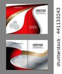 brochure template    Shutterstock .eps vector #441133243