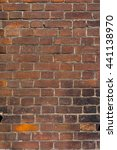 Small photo of Old brick texture with soft ambient light