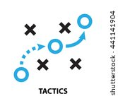 tactics business  concept  icon ... | Shutterstock .eps vector #441141904