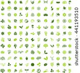 big natural icon set | Shutterstock .eps vector #441193510