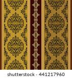 ethnic geometric print.... | Shutterstock .eps vector #441217960