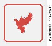 dove of peace. | Shutterstock . vector #441234859