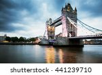 tower bridge at night  london | Shutterstock . vector #441239710